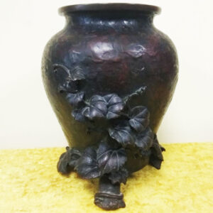 Медная ваза эпохи Мэйдзи